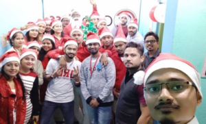 Merry Christmas From Cybertoss Teamily