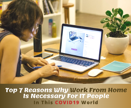 Top 7 Reasons Why Work From Home Is Necessary For IT People In This COVID World